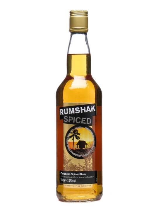 Rumshak Spiced Rum Caribbean Spirit Drink : Buy Online - The Whisky ...