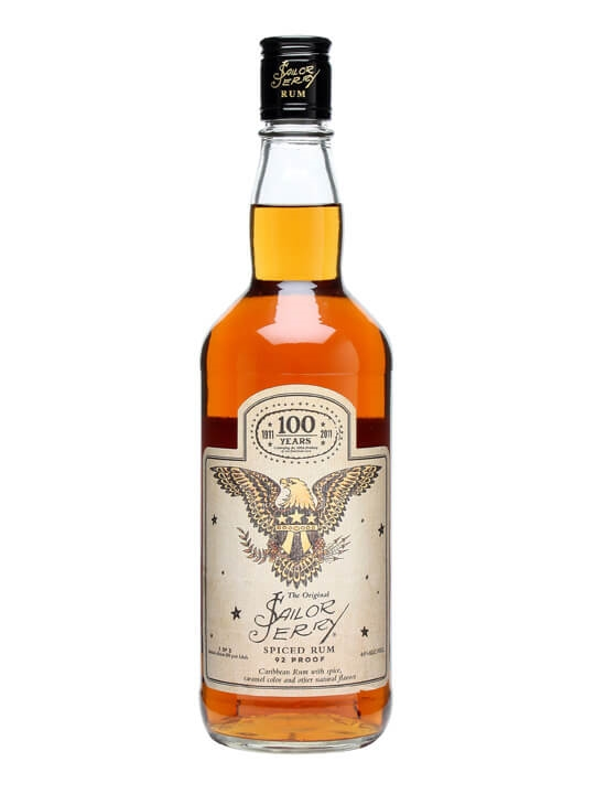 Sailor Jerry 100 Years Limited Edition Spiced Rum