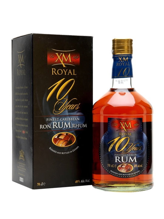 Xm Royal 10 Year Old Rum The Whisky Exchange
