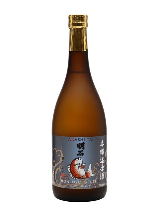 Akashi-Tai Honjozo Genshu Sake