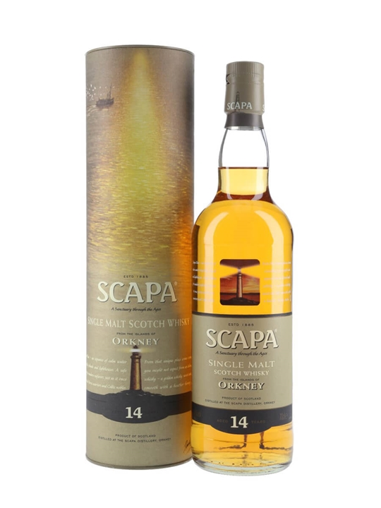Scapa 14 Year Old Island Single Malt Scotch Whisky