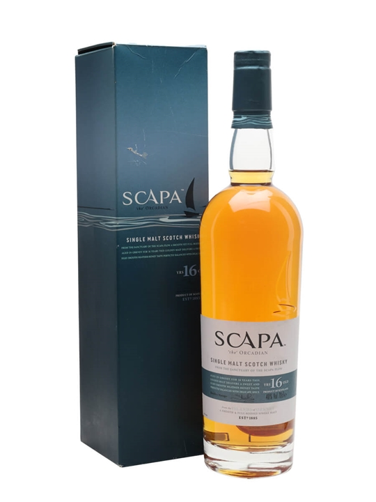 Scapa 16 Year Old Island Single Malt Scotch Whisky