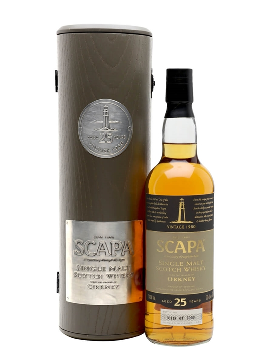 Scapa 1980 / 25 Year Old Island Single Malt Scotch Whisky