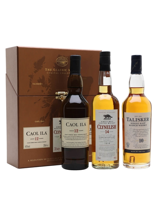 Classic Malts Coastal Collection / 3x20cl
