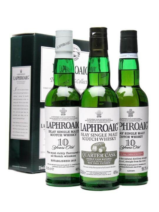 Laphroaig Collection Islay Single Malt Scotch Whisky