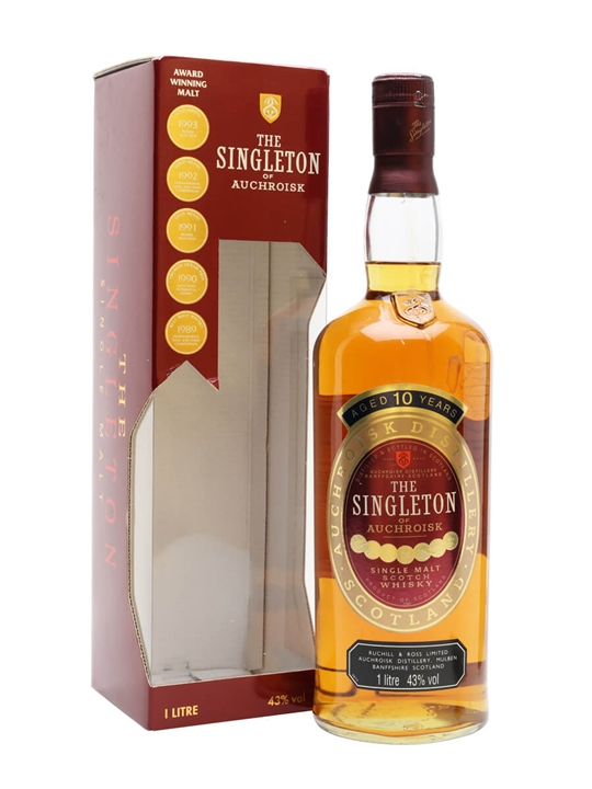 Singleton 10 Year Old / 1l Speyside Single Malt Scotch Whisky