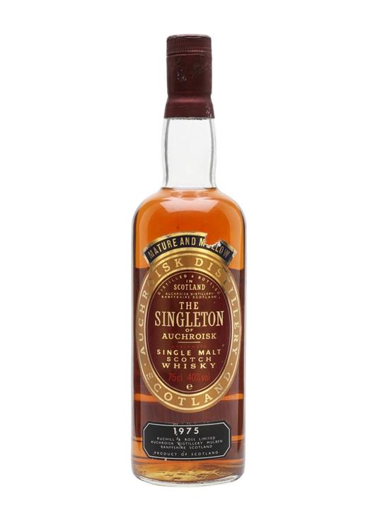 The Singleton Of Auchroisk 1975 Speyside Single Malt Scotch Whisky