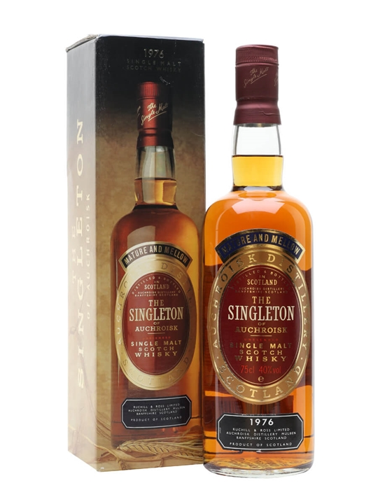 Singleton 1976 / Bot.1980s Speyside Single Malt Scotch Whisky