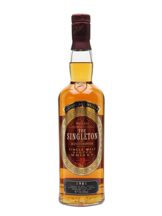 Singleton 1981 Speyside Single Malt Scotch Whisky