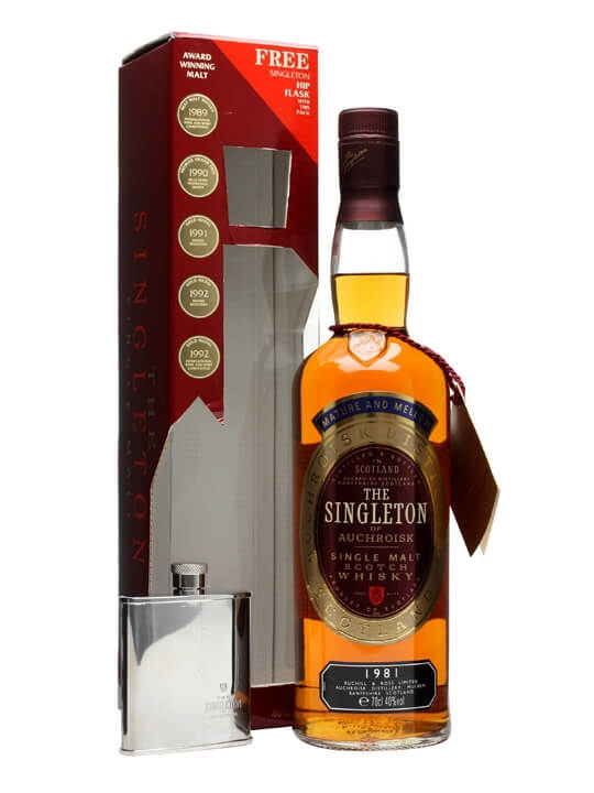 Singleton 1981 / With Hipflask Speyside Single Malt Scotch Whisky