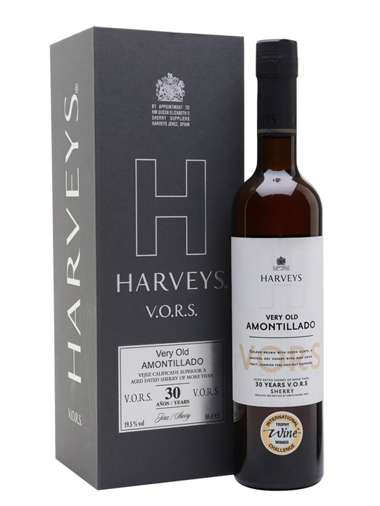 Harveys Fine Old Amontillado Sherry / 30 Year Old / VORS