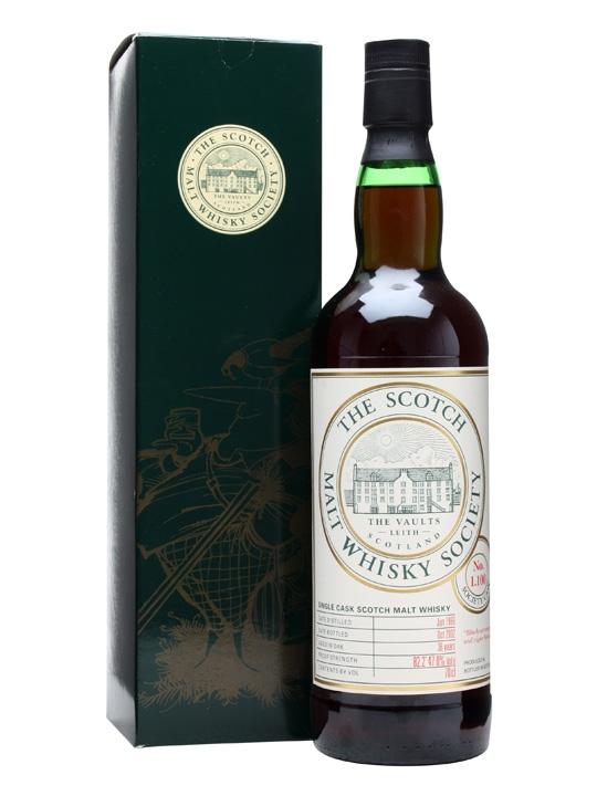 Smws 1.100 / 1966 / 36 Year Old Speyside Single Malt Scotch Whisky
