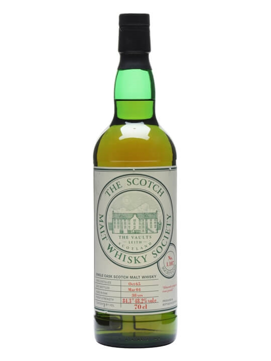 Smws 1.107 / 1965 / 38 Year Old Speyside Single Malt Scotch Whisky