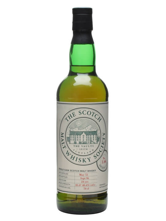 Smws 1.66 / 1972 / 24 Year Old / 'victoria Plums' Speyside Whisky