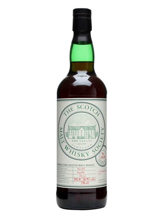 Smws 10.59 / 1987 / Bot.2004 Islay Single Malt Scotch Whisky