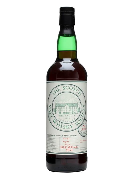Smws 10.59 / 1987 / Bot.2004 Islay Single Malt Scotch Whisky