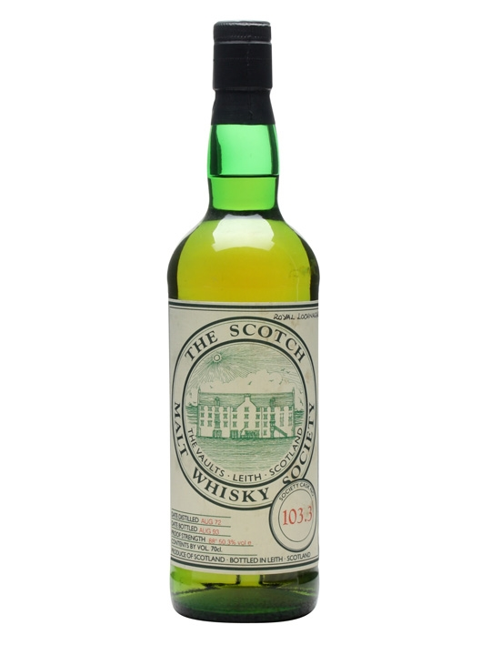 Smws 103.3 / 1972 / Bot.1993 Highland Single Malt Scotch Whisky