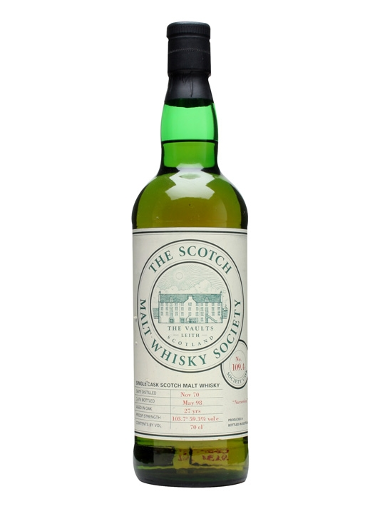 Smws 109.4 / 1970 / 27 Year Old Speyside Single Malt Scotch Whisky