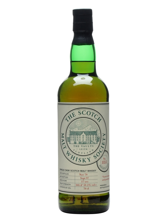Smws 113.1 / 1979 / 17 Year Old Speyside Single Malt Scotch Whisky