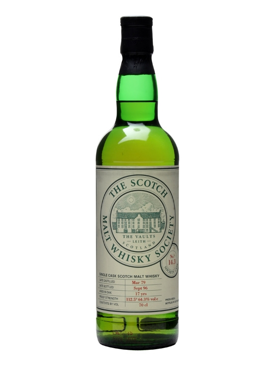 Smws 14.3 / 1979 / 17 Year Old Island Single Malt Scotch Whisky