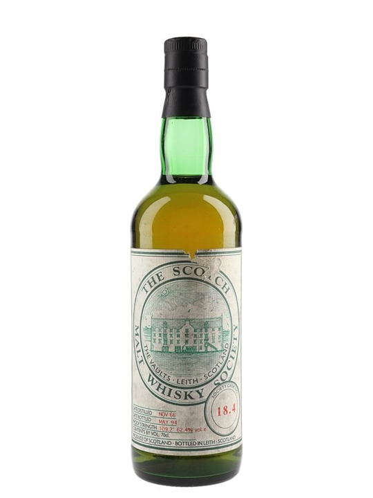 Smws 18.4 / 1966 / Bot.1994 Speyside Single Malt Scotch Whisky