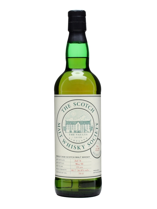 Smws 2.27 / 1974 / 23 Year Old Speyside Single Malt Scotch Whisky