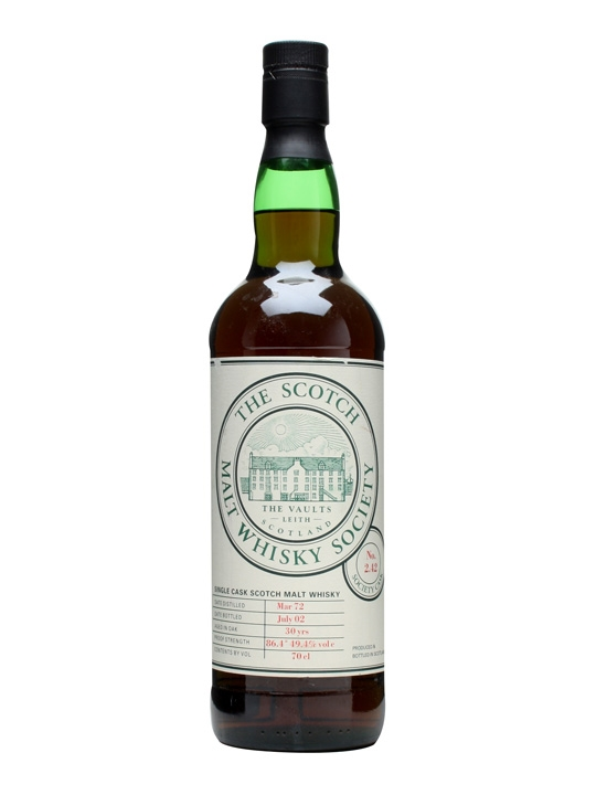 Smws 2.42 / 1972 / 30 Year Old Speyside Single Malt Scotch Whisky