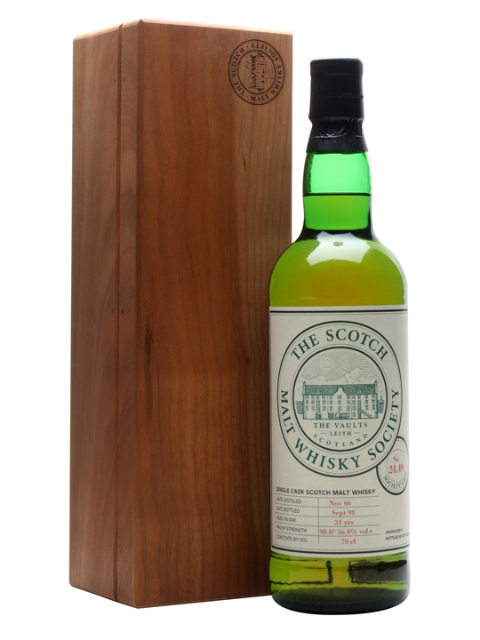 Smws 24.49 / 1966 / 31 Year Old Speyside Single Malt Scotch Whisky