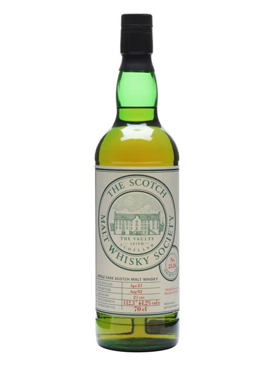 Smws 25.26 / 1981 / 21 Year Old / Oddfellows & Rhubarb Rock Lowland Whisky