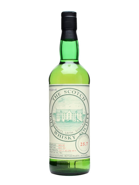 Smws 25.7 / 1980 / Bot.1994 Lowland Single Malt Scotch Whisky