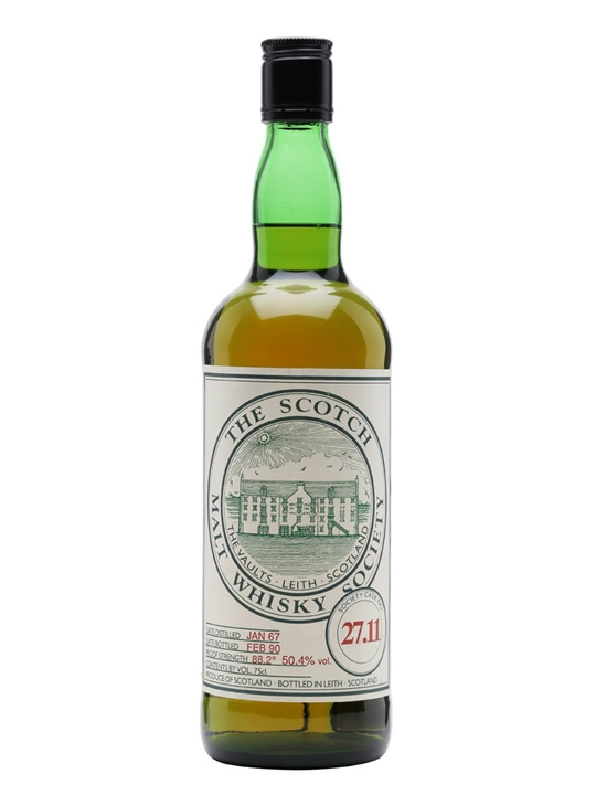 Smws 27.11 / 1967 / 23 Year Old Campbeltown Single Malt Scotch Whisky