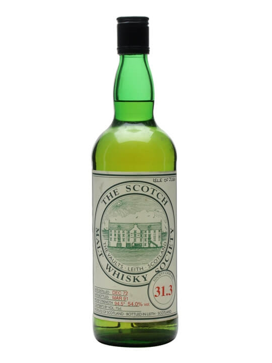 Smws 31.3 / 1972 / Bot.1991 Island Single Malt Scotch Whisky