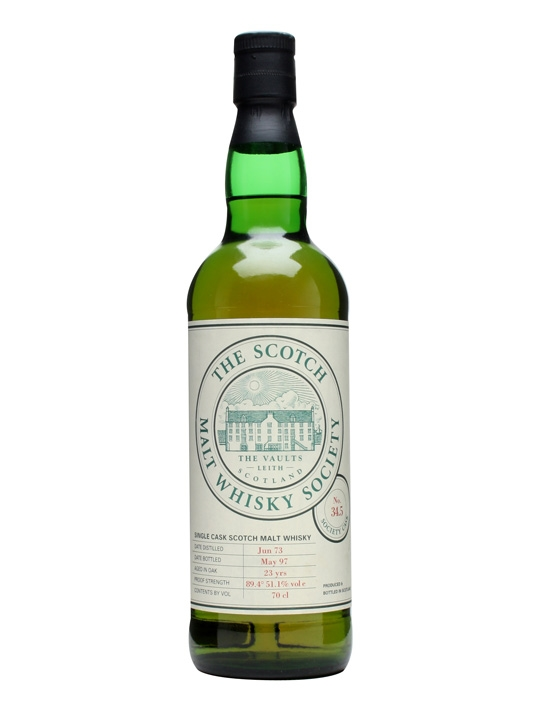 Smws 34.5 / 1973 / 23 Year Old Speyside Single Malt Scotch Whisky