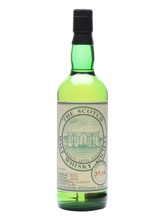 Smws 37.14 / 1981 / Bot.1994 Speyside Single Malt Scotch Whisky