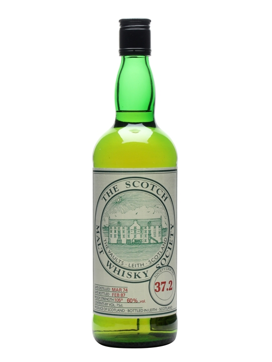Smws 37.2 / 1974 / Bot.1987 Speyside Single Malt Scotch Whisky