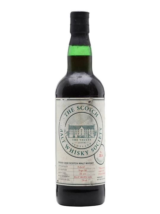 Smws 38.6 / 1967 / 31 Year Old / Sherry Cask Speyside Whisky