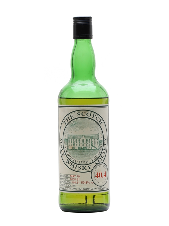 Smws 40.4 / 1979 / Bot.1991 Speyside Single Malt Scotch Whisky