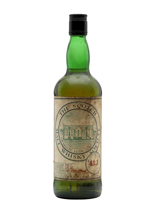 Smws 41.1 / 1971 / Bot.1987 Speyside Single Malt Scotch Whisky