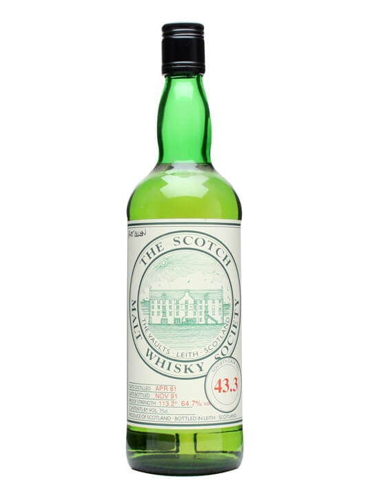 Smws 43.3 / 1981 / Bot.1991 Islay Single Malt Scotch Whisky