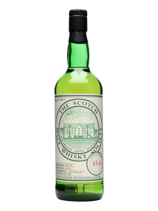 Smws 45.4 / 1980 / Bot.1993 Speyside Single Malt Scotch Whisky