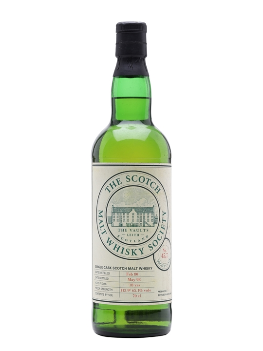 Smws 45.7 / 1980 / 18 Year Old / Scented Wrapping Paper Speyside Whisky