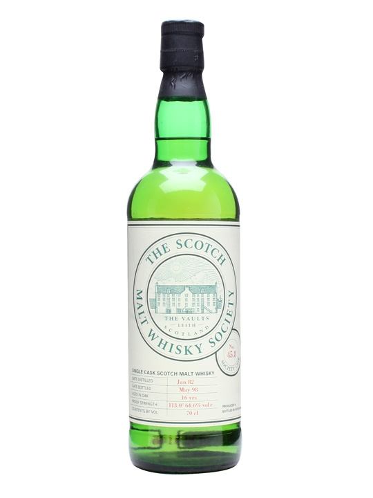 Smws 45.8 / 1982 / 16 Year Old / Toffee Limes And Sweet Peas Speyside Whisky