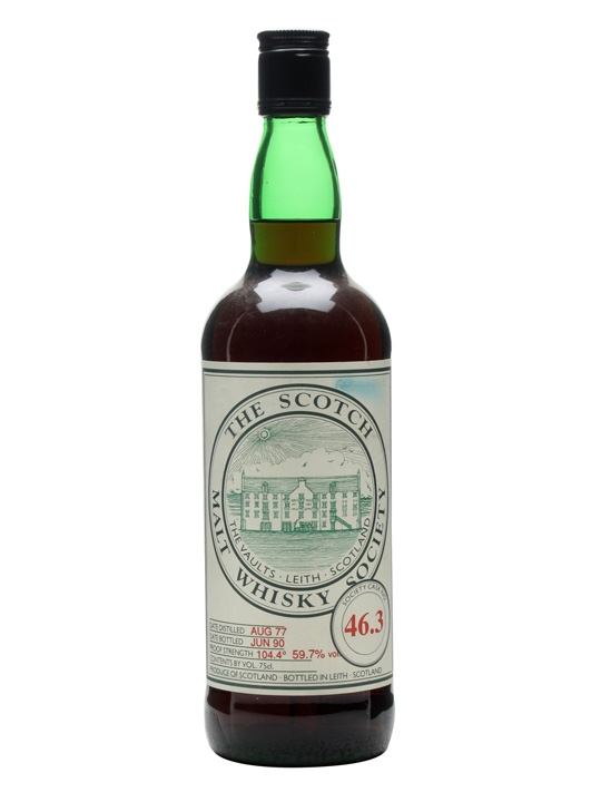 Smws 46.3 / 1977 / Bot.1990 Speyside Single Malt Scotch Whisky