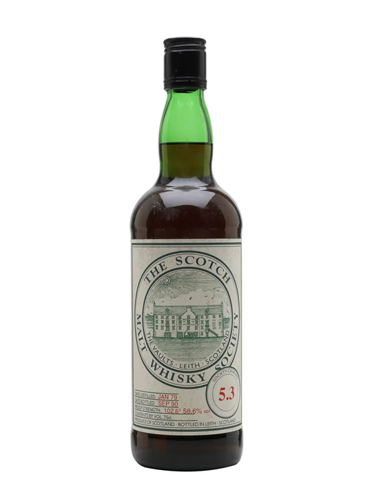 Smws 5.3 / 1979 / Bot.1990 Lowland Single Malt Scotch Whisky