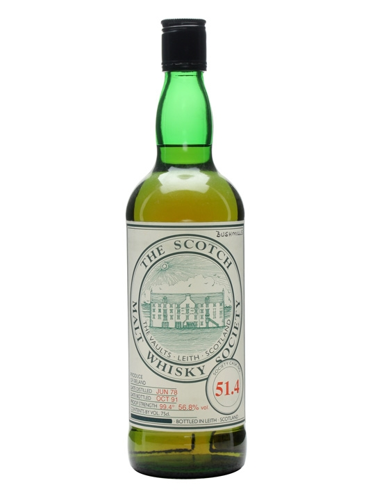 Smws 51.4 / 1978 / Bot.1991 Single Malt Irish Whiskey