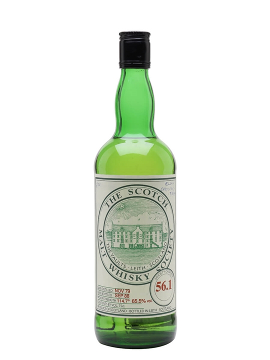 Smws 56.1 / 1979 / Bot.1988 Speyside Single Malt Scotch Whisky