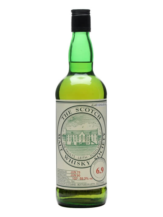 Smws 6.9 / 1973 / Bot.1990 Speyside Single Malt Scotch Whisky