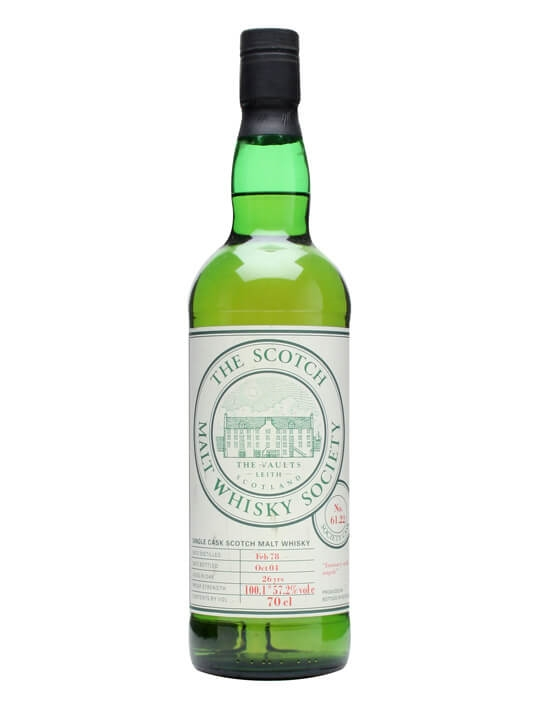 Smws 61.22 / 1978 / 26 Year Old / Intimacy With Angels Highland Whisky
