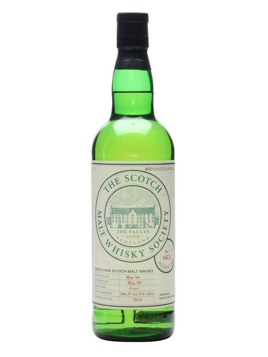 Smws 64.3 / 1990 / 9 Year Old Speyside Single Malt Scotch Whisky