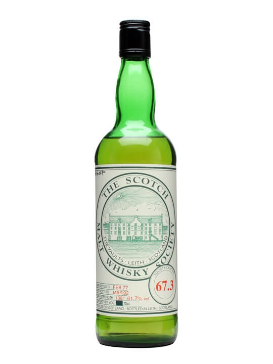 Smws 67.3 / 1977 / Bot.1992 Speyside Single Malt Scotch Whisky